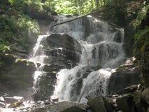 2瀑布 库存照片