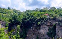 瀑布- Gara Bov,保加利亚 库存照片