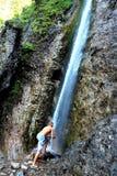 瀑布- Tatra山 图库摄影