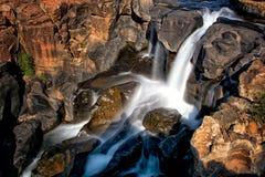 瀑布BourkeÂ的运气坑洼我 库存图片