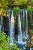 瀑布Duden在Antalya土耳其 免版税库存图片