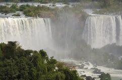 瀑布Iguacu 库存照片
