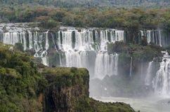 瀑布Iguacu 免版税库存图片