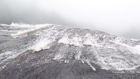 瀑布lflows峭壁 影视素材