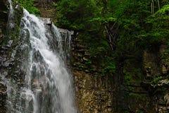 瀑布Zhenetskyi Huk乌克兰语喀尔巴汗 库存照片