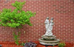 灌木雕象 库存图片