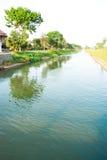 灌溉水 免版税库存照片