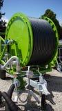 灌溉设备在农场 免版税库存图片