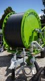 灌溉设备在农场 图库摄影