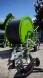 灌溉设备在农场 免版税库存照片