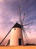 灌溉风车 免版税库存照片