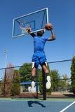 灌篮篮球 免版税库存图片