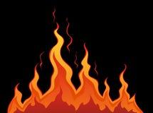 火传统化了 免版税库存照片
