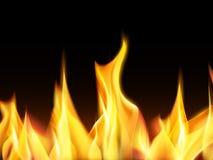 火例证向量 免版税库存照片