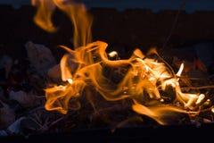 火做 免版税库存照片
