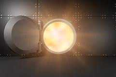 火光3d的综合图象 库存图片