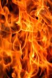 火发火焰 库存照片