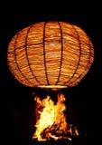 火和光 库存图片