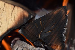 火在火地方 库存图片