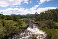 火地岛国家公园河 免版税库存照片