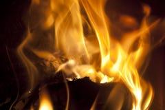 火地方 库存照片
