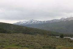 火地群岛-风景 免版税库存照片