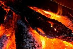 火坑 库存图片