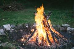 火坑 图库摄影