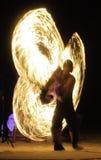 火展示 免版税库存照片