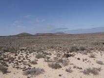 火山卡纳里亚海岛 库存照片