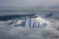 火山口外缘 库存图片