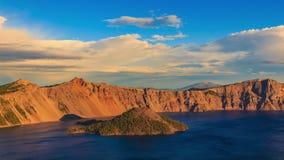 2008年火山口湖俄勒冈美国 影视素材