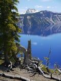2008年火山口湖俄勒冈美国 库存图片