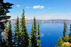 火山口湖国家公园,俄勒冈,美国 库存照片