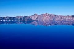 火山口湖 图库摄影