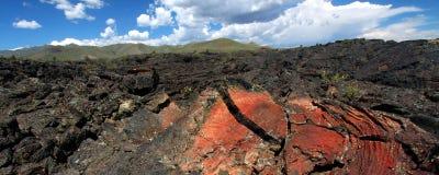 火山口爱达荷月亮 免版税图库摄影