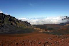 火山口 免版税库存照片