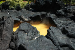火山口 库存图片