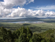 火山口Ngorongoro 2 库存图片