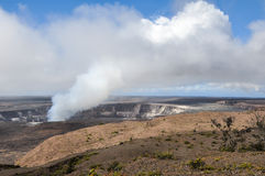火山国家公园 免版税库存图片