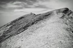 火山圣安娜的上面在萨尔瓦多 图库摄影