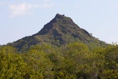 火山在加拉帕戈斯群岛 免版税库存图片