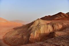 火山在新疆 库存照片