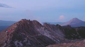 火山在清早 影视素材