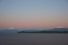 火山奥索尔诺火山- Puerto Varas -智利 图库摄影