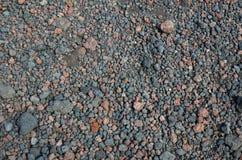 火山岩的背景 库存图片