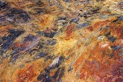 火山岩石的纹理 库存照片