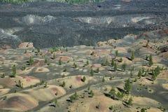 火山拉森的国家公园 免版税库存图片