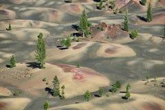 火山拉森的国家公园 免版税库存照片
