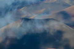 火山火山口 库存照片